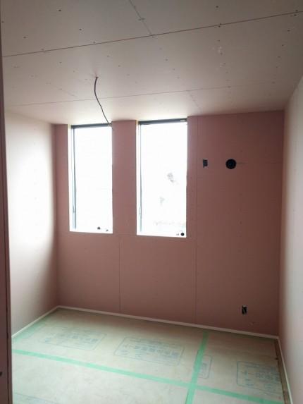 これから、壁を仕上げていきます。郡山市小原田|郡山市 新築住宅 大原工務店のブログ