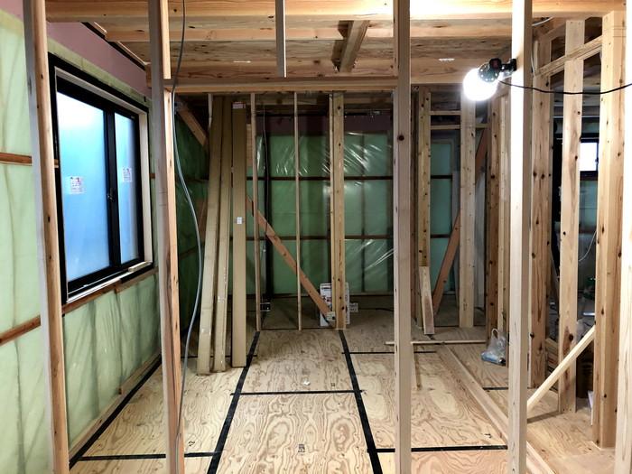 上棟検査前の様子です。|郡山市 新築住宅 大原工務店のブログ
