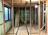 気密工事です。|郡山市 新築住宅 大原工務店のブログ