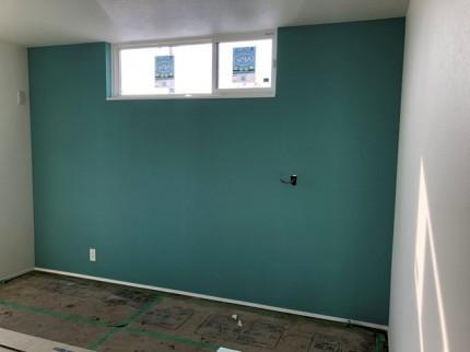 寝室のアクセントクロスです。|郡山市 新築住宅 大原工務店のブログ