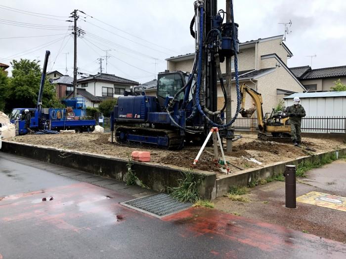 地盤改良工事が始まります!郡山市富田町| 郡山市 新築住宅 大原工務店のブログ