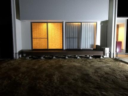 ウッドデッキ完成です。郡山市田村町| 郡山市 新築住宅 大原工務店のブログ