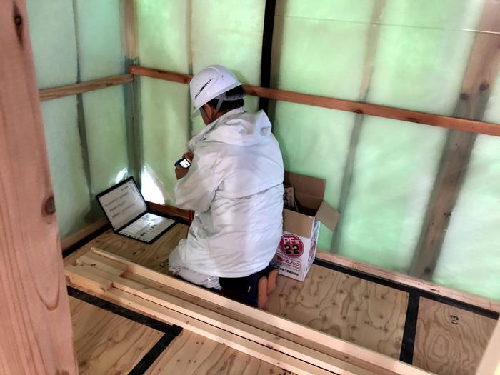 上棟検査です。|郡山市 新築住宅 大原工務店のブログ