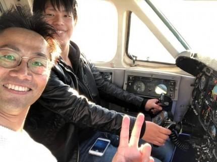 飛行機の操縦です。|郡山市 新築住宅 大原工務店のブログ