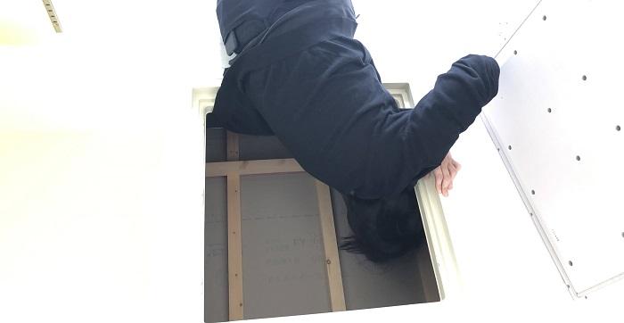 床下点検口を見てきました!二本松市A様邸  郡山市 新築住宅 大原工務店のブログ