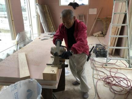 框の溝堀です。|郡山市 新築住宅 大原工務店のブログ