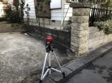 レーザーレベルで高さを測っていきます。郡山市喜久田町| 郡山市 新築住宅 大原工務店のブログ