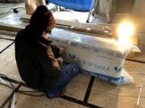 アクリアウールという断熱材を使用しています。郡山市安積町| 郡山市 新築住宅 大原工務店のブログ