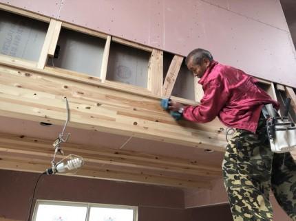 見切りの施工完了です。 郡山市 新築住宅 大原工務店のブログ