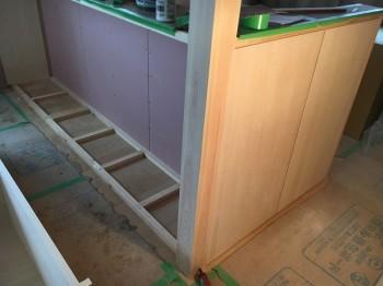 矢吹町H様邸 新築住宅のキッチン造作収納をご紹介します♩