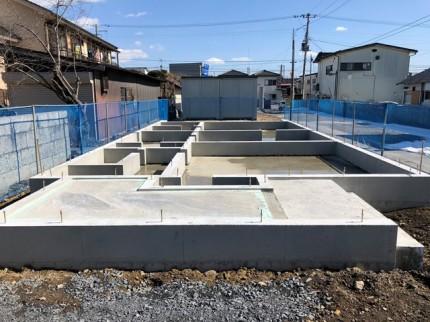 新築住宅のべた基礎完成です。|郡山市 新築住宅 大原工務店のブログ