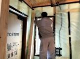 気密検査を行いました。郡山市安積町| 郡山市 新築住宅 大原工務店のブログ