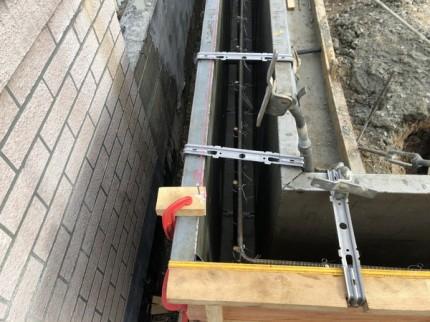 土留めの型枠工事です。|郡山市 新築住宅 大原工務店のブログ