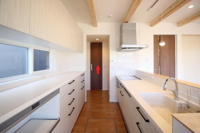 リビング側の写真です。|郡山市 新築住宅 大原工務店のブログ