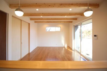 ブラックチェリーの床材を使ったお家です。郡山市大槻町|郡山市 新築住宅 大原工務店のブログ