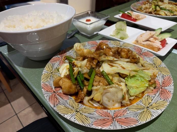 えんびの回鍋肉定食です。郡山市桑野| 郡山市 新築住宅 大原工務店のブログ