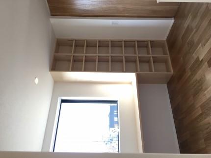 2階のホールにフリースペースがあります。郡山市田村町| 郡山市 新築住宅 大原工務店のブログ