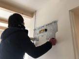 大原工務店で建てている新築住宅にエアコンを取り付けております。郡山市大槻町| 郡山市 新築住宅 大原工務店のブログ