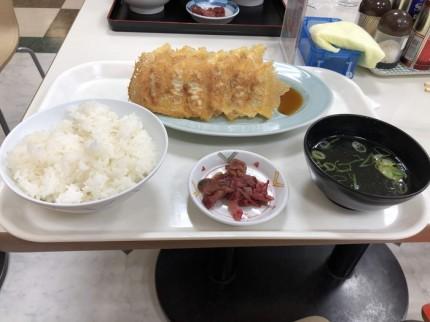 餃子定食です。|郡山市 新築住宅 大原工務店のブログ