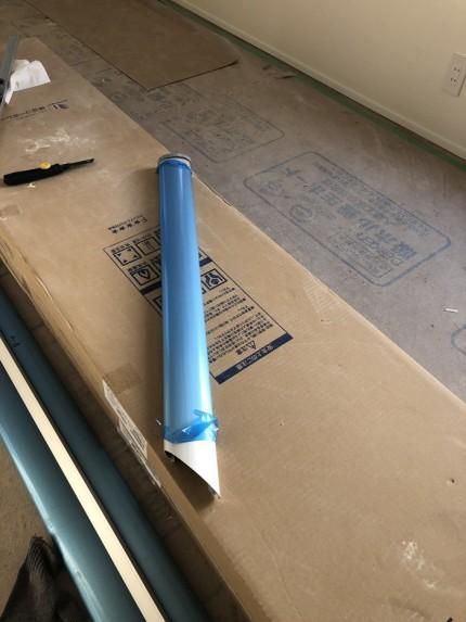 バルコニーの仕上げ部材です。|郡山市 新築住宅 大原工務店のブログ