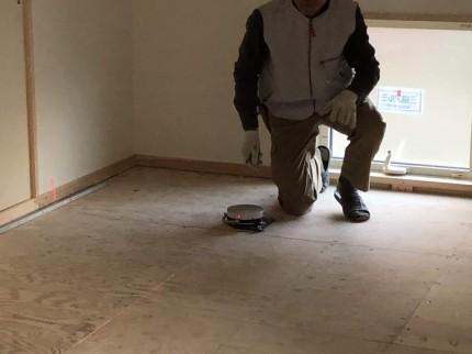 畳の採寸完了です。 郡山市 新築住宅 大原工務店のブログ