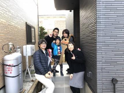 富田町で新築住宅のお引き渡しです。|郡山市 新築住宅 大原工務店のブログ