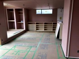 木工事完了の様子です。 郡山市 新築住宅 大原工務店のブログ
