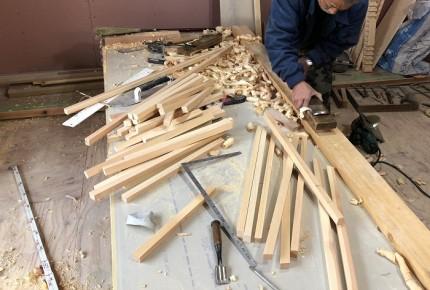 新築住宅の大工工事が進んでおります。郡山市小原田|郡山市 新築住宅 大原工務店のブログ