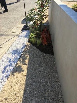 植栽もステキです。|郡山市 新築住宅 大原工務店のブログ