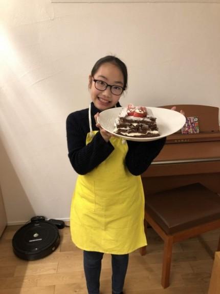 寧々が作ったケーキです。|郡山市 新築住宅 大原工務店のブログ