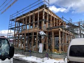 屋根にルーフィングの施工をします。郡山市喜久田町  郡山市 新築住宅 大原工務店のブログ