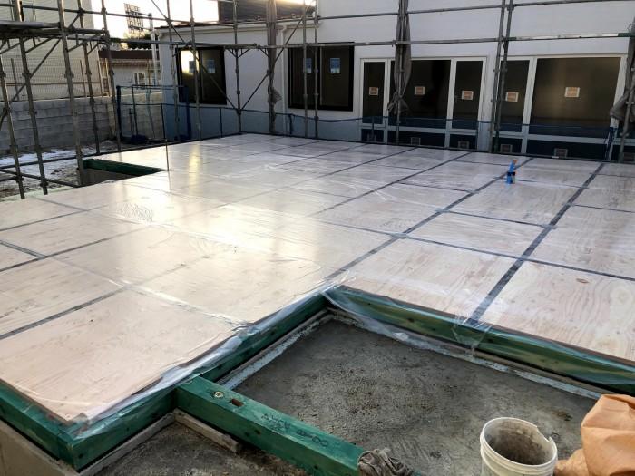 土台入れの完成になります。須賀川市森宿| 郡山市 新築住宅 大原工務店のブログ