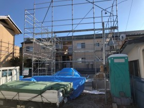 新築の土台入れです。|郡山市 新築住宅 大原工務店のブログ