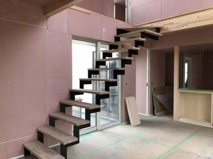 木工事終了後のリビングです 郡山市富久山町 |郡山市 新築住宅 大原工務店のブログ