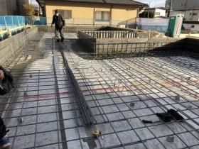 大原工務店で新築注文住宅の基礎を造っているところです。岩瀬郡鏡石町| 郡山市 新築住宅 大原工務店のブログ