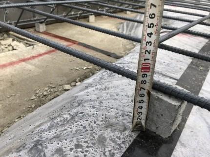 大原工務店で新築注文住宅の基礎を造っている確認です。岩瀬郡鏡石町| 郡山市 新築住宅 大原工務店のブログ