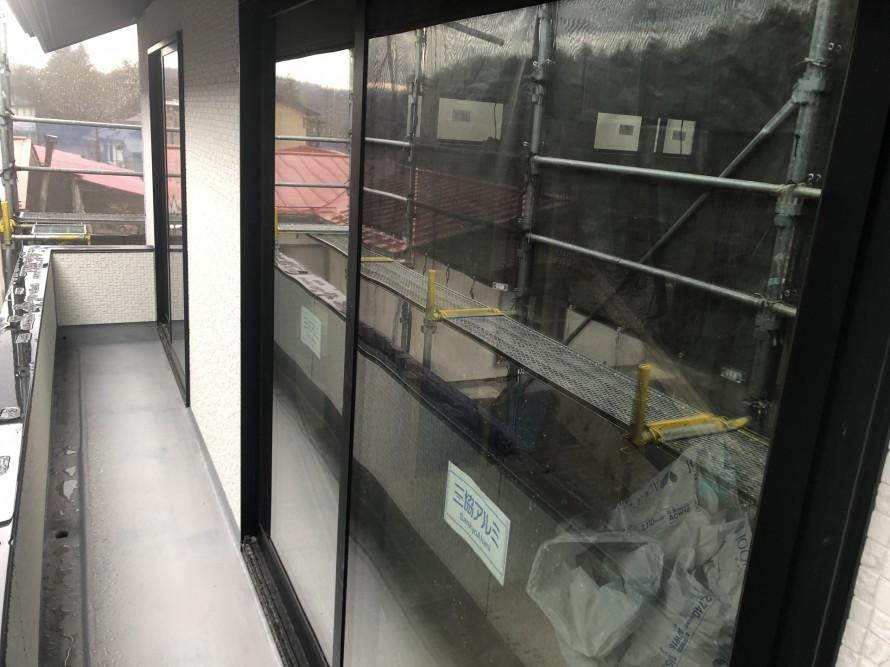 矢吹町S様邸、もうすぐ足場はずれます|郡山市 新築住宅 大原工務店のブログ