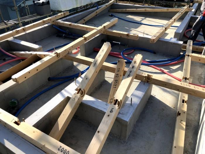 土台入れで使用する檜です。郡山市深沢|郡山市 新築住宅 大原工務店のブログ
