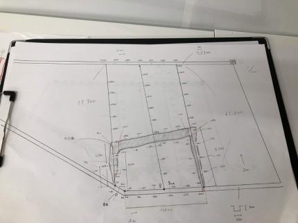図面に書き起こします 郡山市安積町 |郡山市 新築住宅 大原工務店のブログ