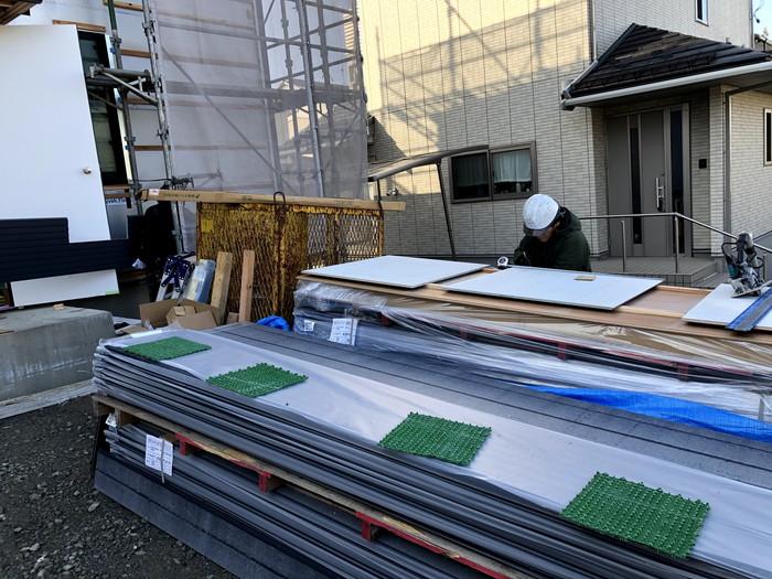 外壁を施工していきます。郡山市富田町| 郡山市 新築住宅 大原工務店のブログ