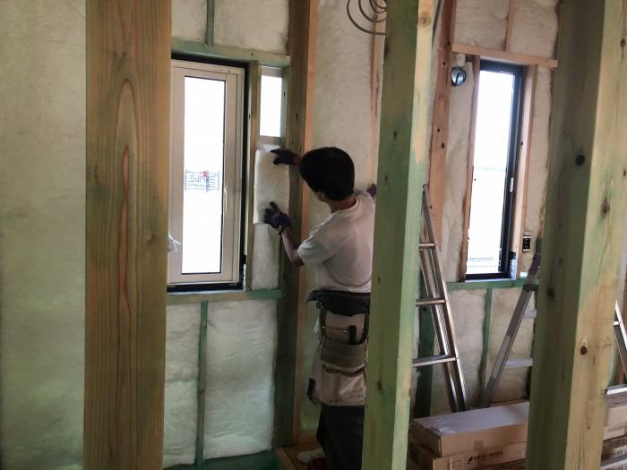 実際に施工されているところです!| 郡山市 新築住宅 大原工務店のブログ
