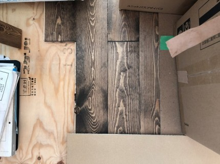 パインのフローリングです。|郡山市 新築住宅 大原工務店のブログ
