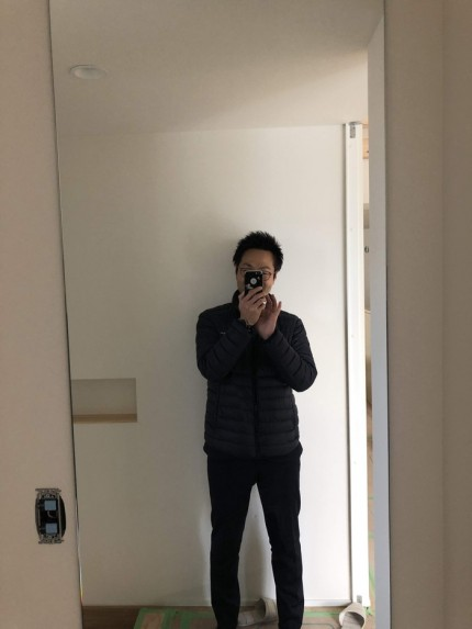 大型の全身鏡です。|郡山市 新築住宅 大原工務店のブログ