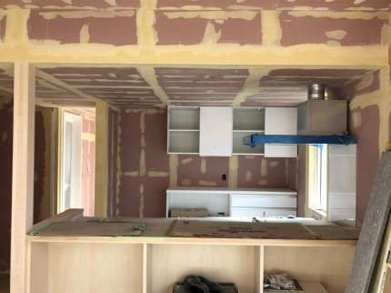 下地処理完了です。|郡山市 新築住宅 大原工務店のブログ