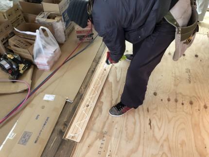 郡山市小原田の新築住宅の無垢床 | 郡山市 新築住宅 大原工務店のブログ