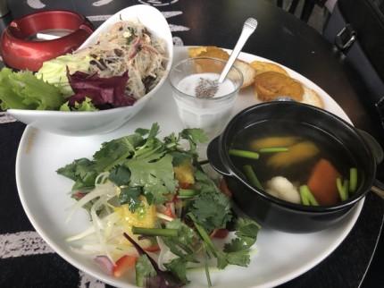 タイ料理のサラダランチです。|郡山市 新築住宅 大原工務店のブログ