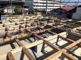 土台入れを行いました。郡山市深沢| 郡山市 新築住宅 大原工務店のブログ