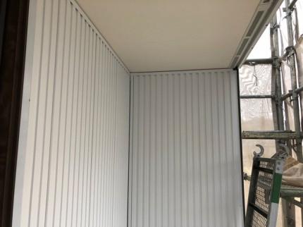 ガルバの外壁施工です。|郡山市 新築住宅 大原工務店のブログ