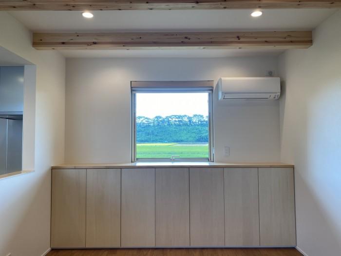 窓からの風景。本宮市白岩| 郡山市 新築住宅 大原工務店のブログ