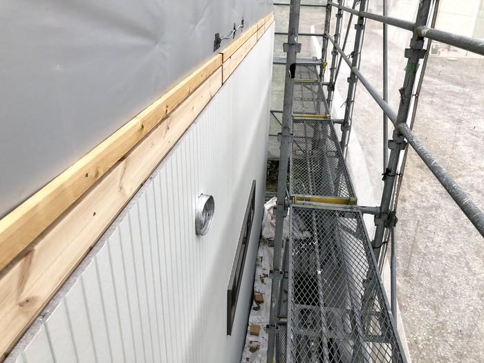 大原工務店で新築注文住宅建築中K様邸、旭トステムのアーバンストライプを施工していきます。郡山市富田町| 郡山市 新築住宅 大原工務店のブログ